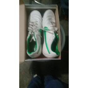 Tenis Nike Blanco Con Verde/ Tennis Nike White With Green