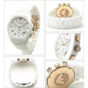 Relogio Gem42752 Emporio Armani Ar1416 White Ceramic+caixa 2e04f5a85d