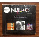 Jaime Roos - Primeras Páginas, Volumen 1. Orfeo Emi Cerrado!