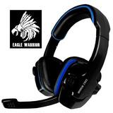 Diadema Hs-501 Eagle Warrior Gamer C/microfono Para Pc Y Lap