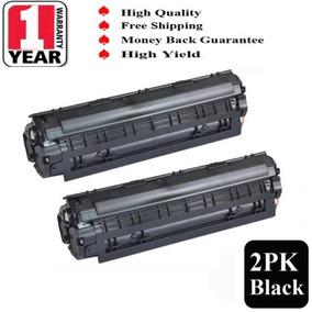 2pk Cb436a 36a Cartucho De Toner Para Hp Laserjet M1522n M15