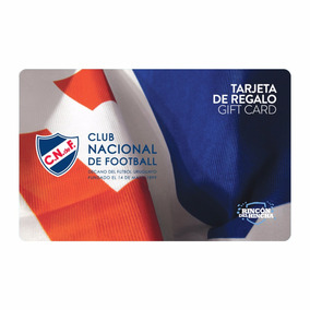 Gift Card Club Nacional De Football Rincón Del Hincha $1000