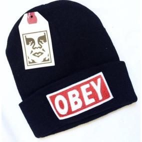 b6b3e8ee00723 Touca Obey Preta Pronta Entrega Fotos Originais - Calçados
