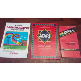 Atari 2600 Catálogos E Manuais Frete Gratis C.r