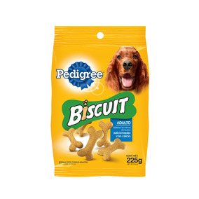 Pedigree Biscuit 225g Galleta Con Calcio Botana Adulto Mars
