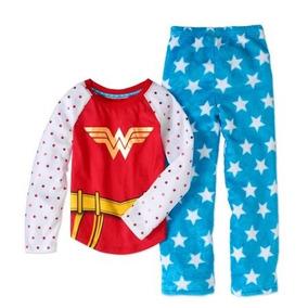 Pijama Blusa Pantalón Wonder Woman 7/8 Años