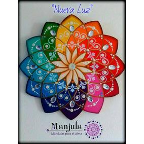 Mandala Pintado Acrilico Arte y Artesanas en Mercado Libre Argentina