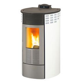 Vivion Haus Ronda Glass 80s Calefactor A Pellet 8kw