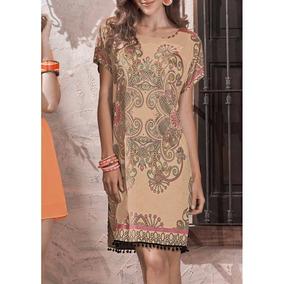 _ Vestido Andrea Con Hombros Prolongados Tipo Kimono 1269291