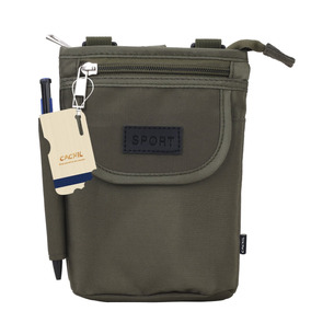 Cachil Nylon Resistente Al Agua Big Capacity Crossbody Bag B