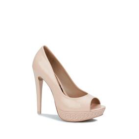 Zapatilla Andrea Peep-toe Mujer Rosa 2518541