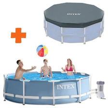 Piscina Estructural 6500 Lt Intex + Bomba Filtro + Cobertor
