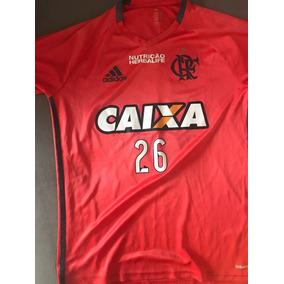 a5333b2e8b Camisa Oficial De Treino Flamengo 2017 Jogadores