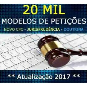 Kit De Petições Jurídicas 2017 Todas As Áreas + Brinde