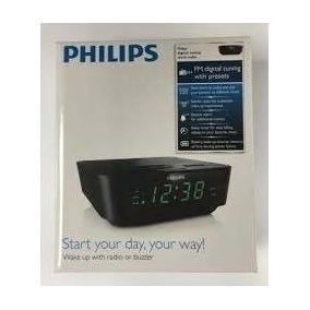 21d3fe19de4 Rádio Relógio Com Sintonização Digital Aj3116 91 Philips ...