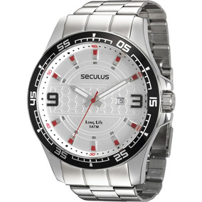 Relógio Seculus Masculino Long Life 28763g0svna1