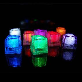 7a02c9514ea Hielos Luminosos Luz Led Fiestas Bebidas Bodas Decoracion