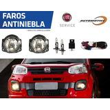 Focos Faroles Luces Camineros Antiniebla Fiat Uno Attractive