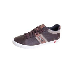 Tenis Smart Marrom Coke Shoes