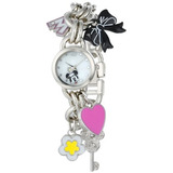 Disney Womens Mn2012 Minnie Mouse Mother Of Pearl Dial