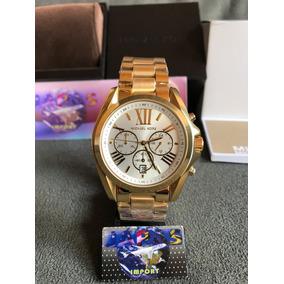 781b93e83e1c1 Relógio Michael Kors Mk 5487 Branco Original Frete Grátis De Luxo ...