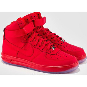 low priced 4f6fa 46b28 Nike Air Lunar Force Red Edic Lim Exclusivas Botitas Altas