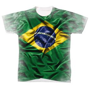 Camiseta Camisa Manga Curta Brasil Seleção Copa Do Mundo 02