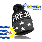 Gorro Lana Freegun Francia Original Fp Premium + Bandera Uy bd350db40e9