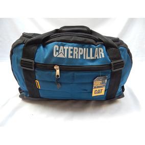 Bolso Caterpillar - Deportivo O Viaje Gran Cap - Azul Celest