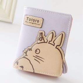 Cartera Monedero De Mi Vecino Totoro Lila
