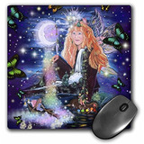 3drose Llc 8 X 8 X 0.25 Inches Mother Of Fantasy Mouse