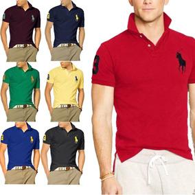 9e130c60e7 Kit 06 Camisas Camisetas Gola Polo Masculina Atacado Revenda