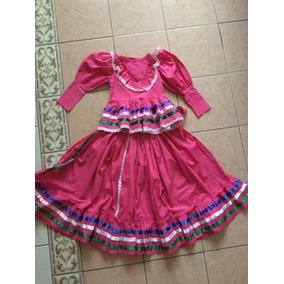 Traje Regional De Jalisco Para Niña Talla 3-4