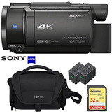 Sony Fdr-ax53 4k Ultra Hd Handycam Camcorder Video Recording