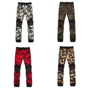 Camuflaje Militar Cintura Media Hombre Pantalones Pants 2018
