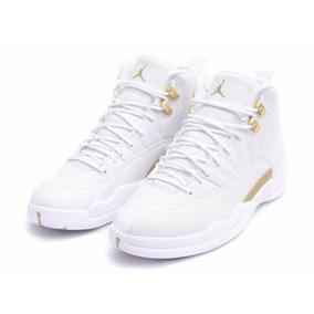 Tênis Nike Air Jordan 12 Ovo White Original