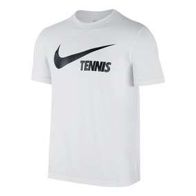 Remera Nike Logo Nike Tennis White