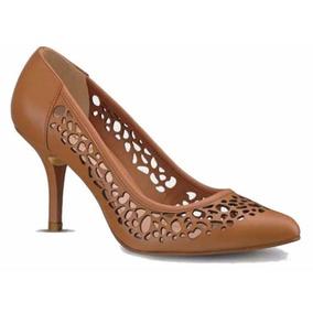 ad813442120 Zapatos Cerrado Color  Cafe Claro 10902 Otros Tacones Mujer Cklass ...