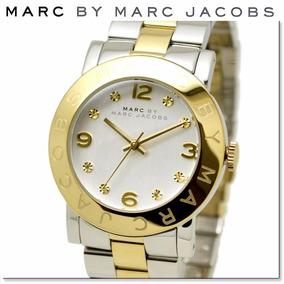 Lindo Relógio Marc Jacobs Transparente Com Prata - Relógios De Pulso ... 4905b73bbc