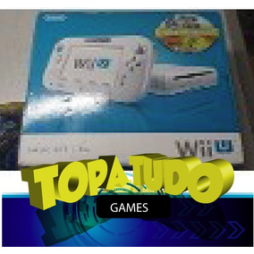Nintendo Wii U Branco Seminovo + 2 Jogos Na Caixa Garantia!!