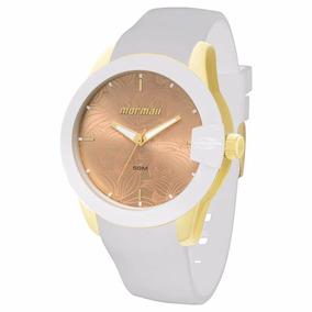 97d94ce2ef388 Relógio Mormaii Analógico Feminino Branco Com Strass - Relógios De ...