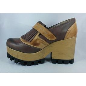 En Dama Cuero Calzados Plataforma Accesorios Zapatos Y Ropa 56Ox0d0wq