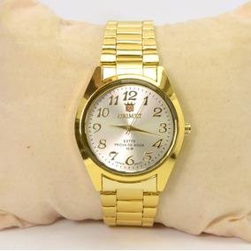3fa664845af Relogios Femininos Dourados Oriente - Relógio Orient Feminino no ...