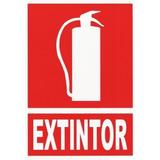 Cartel Extintor 20x15cm (687197) Herracor