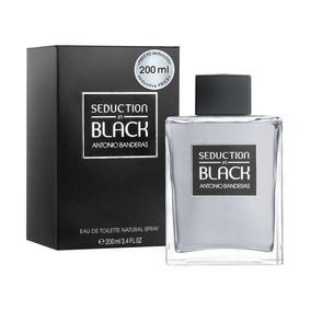 Perfume Seduction In Black 200ml Antonio Banderas Original