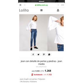 Pantalón Lolita Con Perlas Sin Uso