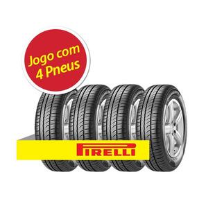 Kit 4 Pneu Aro 13 Pirelli 165/70r13 Cinturato P1 79t