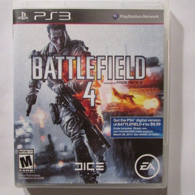 Jogo Battlefield 4 Ps3 Semi-novo Perfeito Estado - Mídia Fís