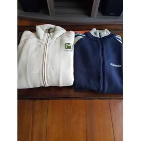 Campera Polar Mistral + Sweater Bross Con Cierre Originales