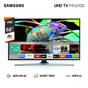 Led Samsung Smart Un65mu6100 Uhd